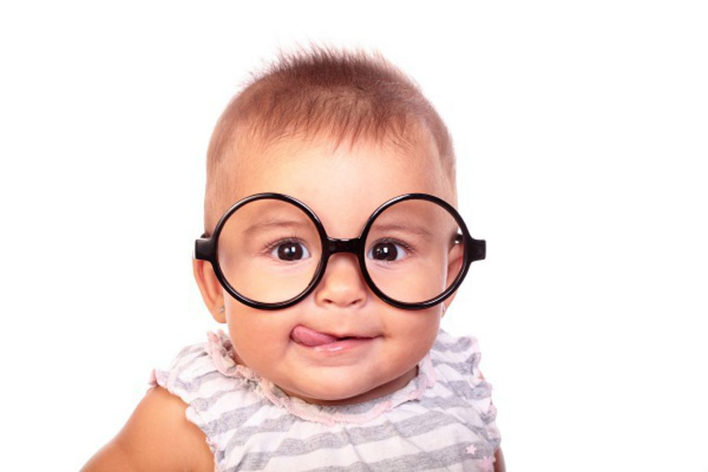 Baby with Glasses